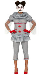 Ladies Assassin Clown Costume