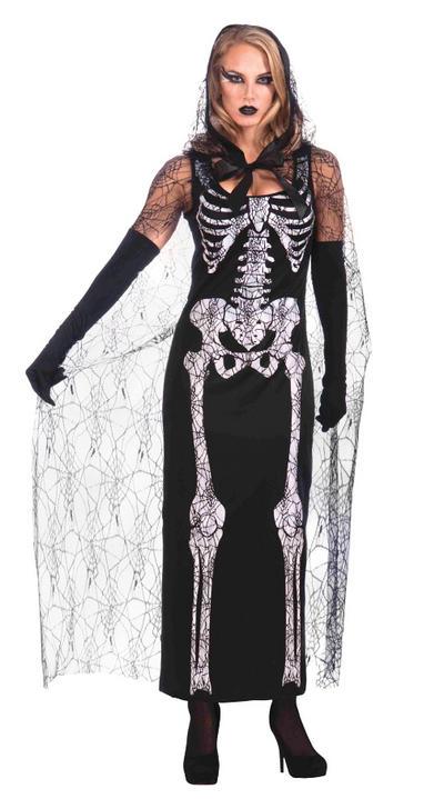 Graveyard Shift Skeleton Costume