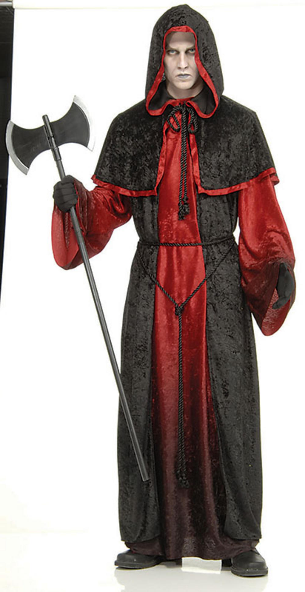 Red Demon Robe Halloween Costume