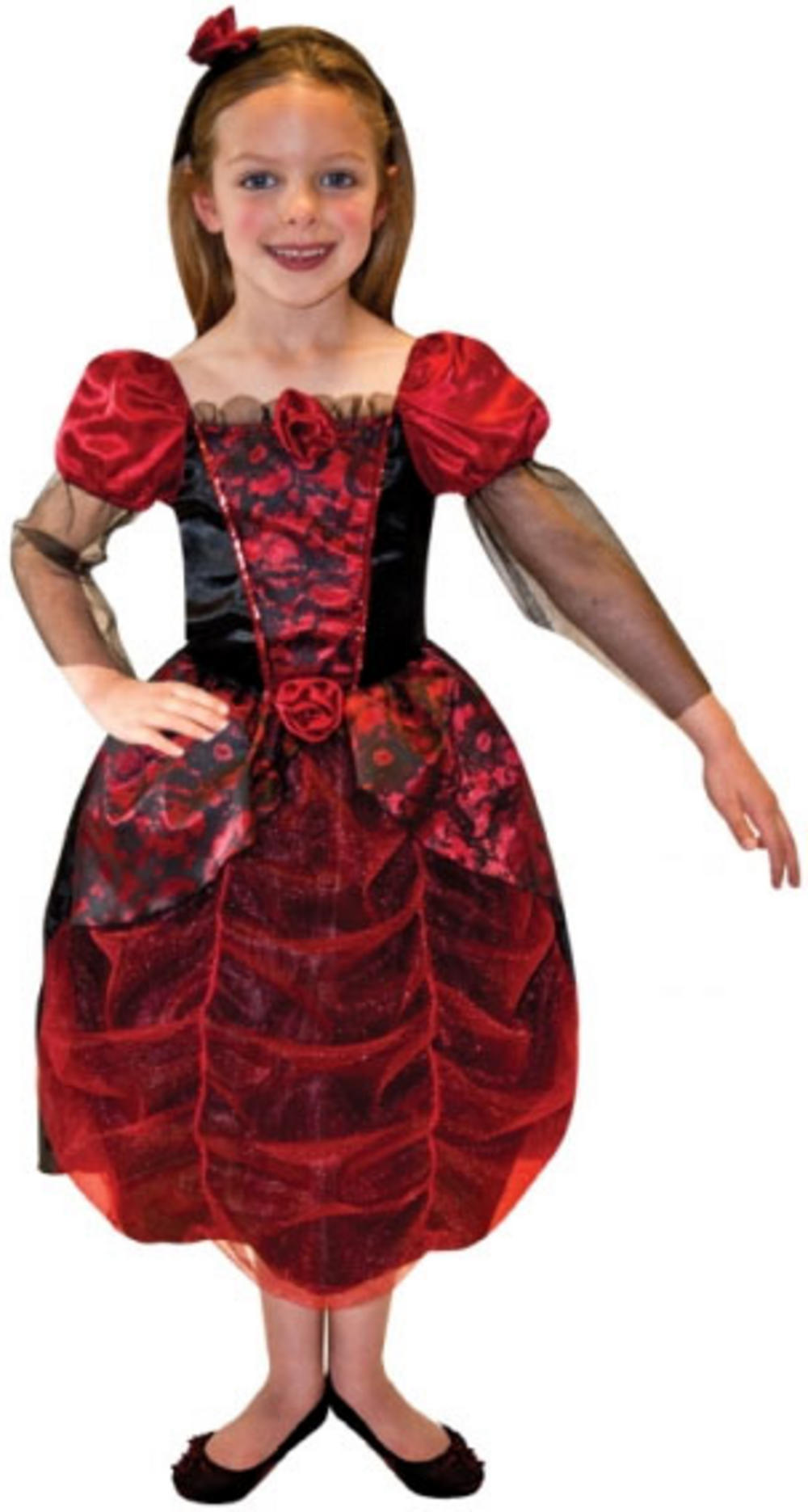 girls' gothic ball gown costume | all halloween | mega fancy dress