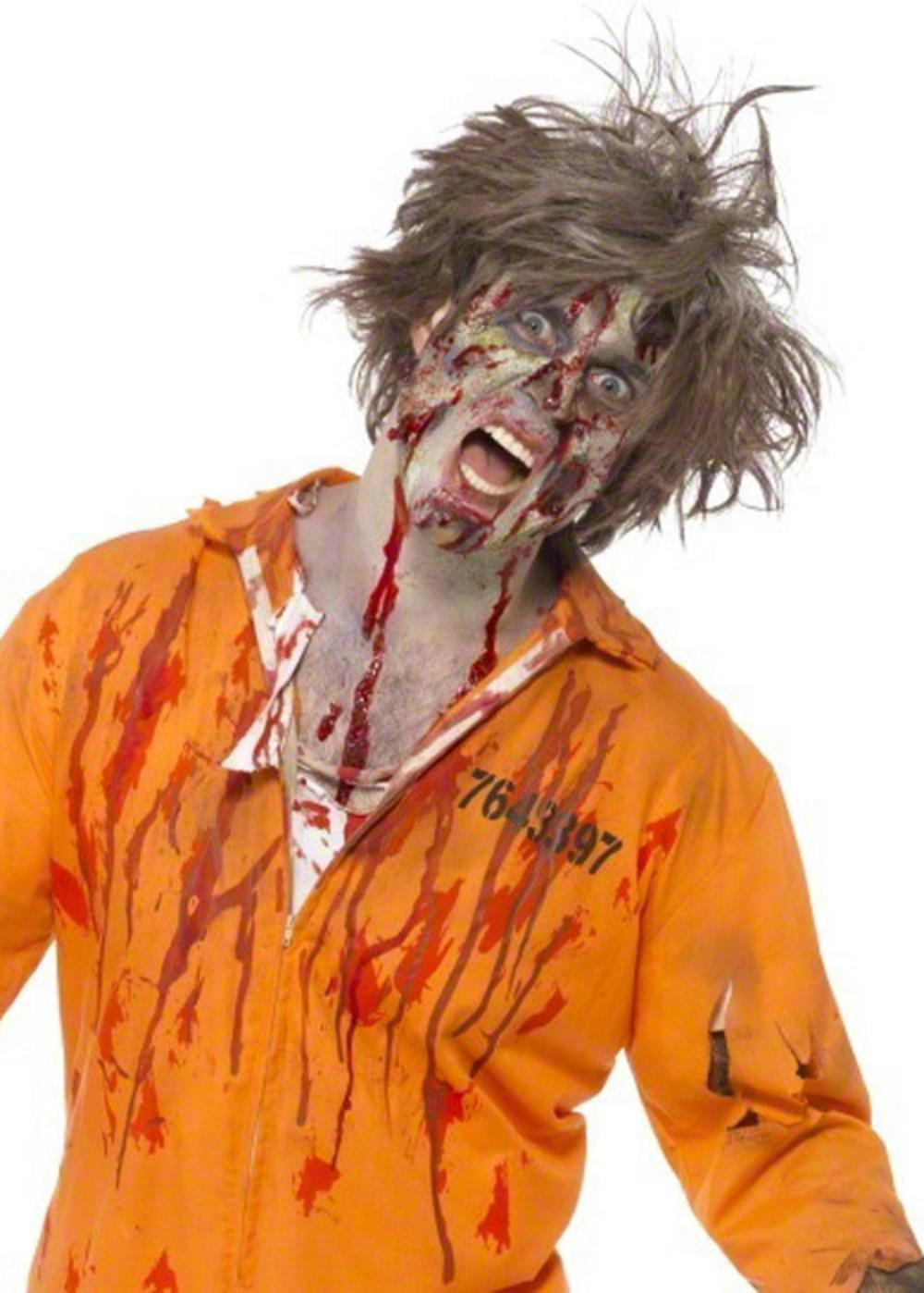 Zombie Latex Make Up Halloween Set
