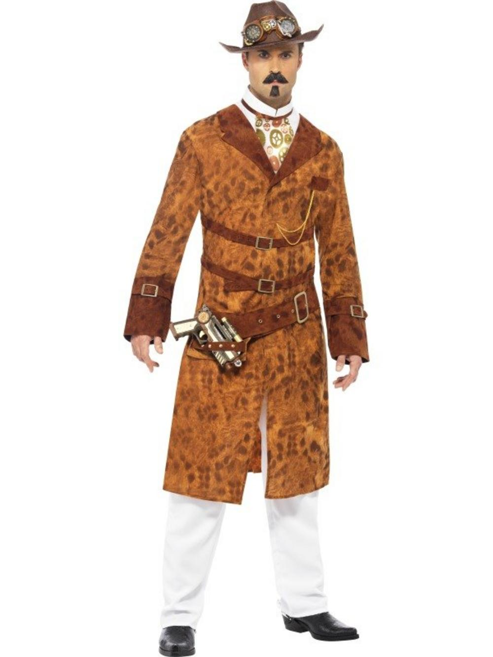 Steam Punk Wild West Agent Costume