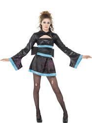 Girls Teen Spider Geisha Girl Halloween Costume