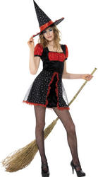 Girls Teen Star Witch Costume