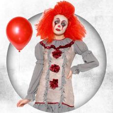 Creepy Clown Costumes