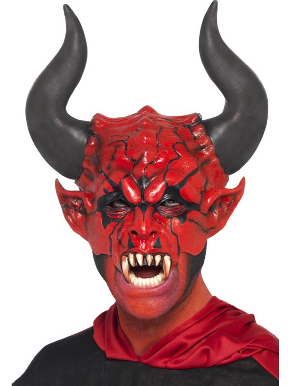 devil lord halloween mask | all mens halloween costumes | mega fancy