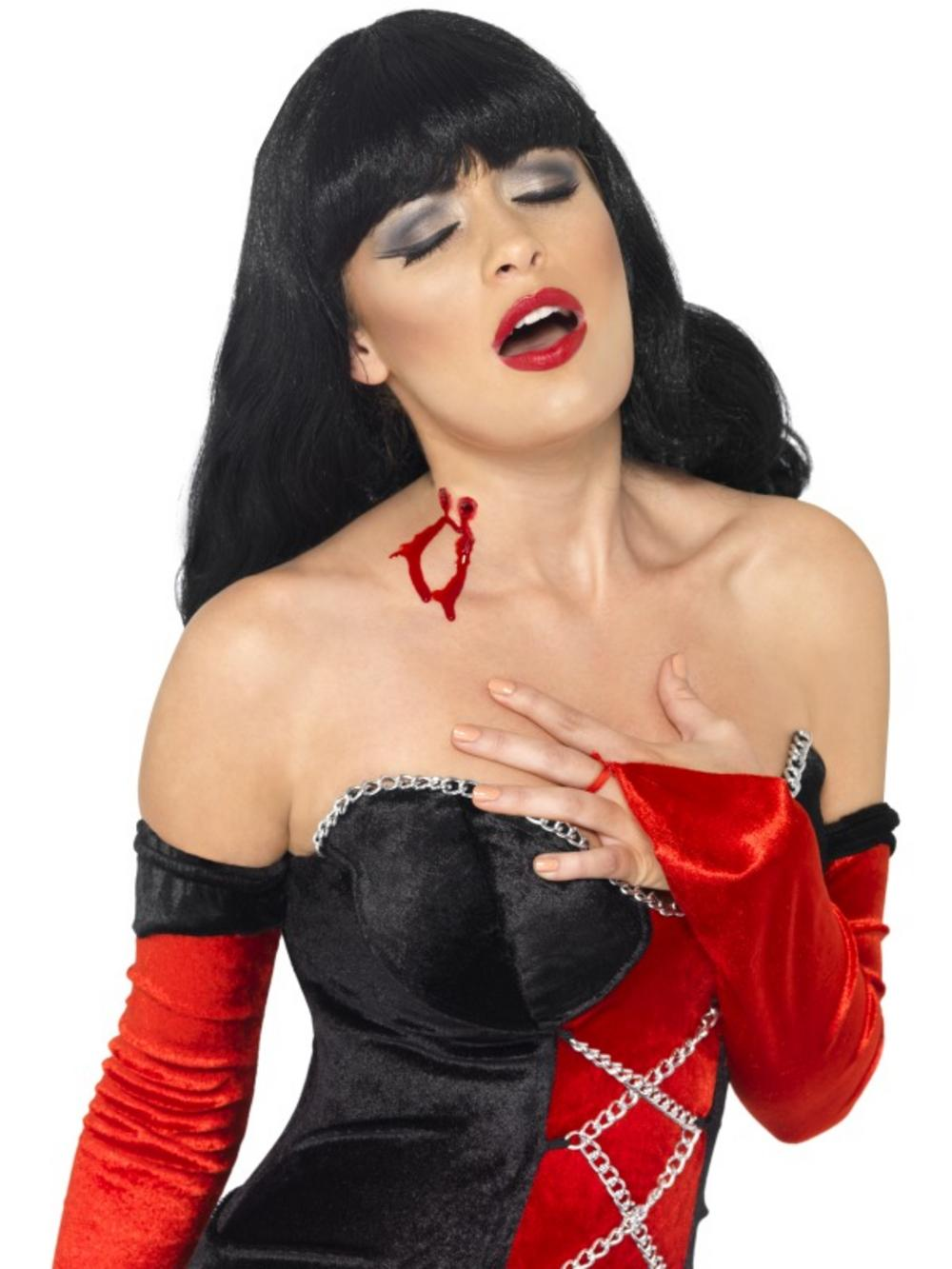 Vampire Scar Bite Latex Halloween Set
