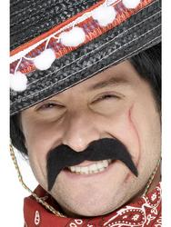 Adults Mexican Bandit Moustache Fancy Dress Accessory