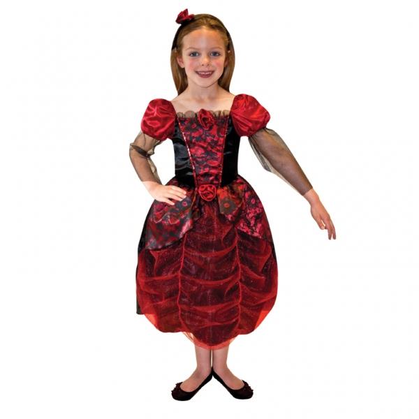 Girls\' Gothic Ball Gown Fancy Dress Costume | All Halloween | Mega ...