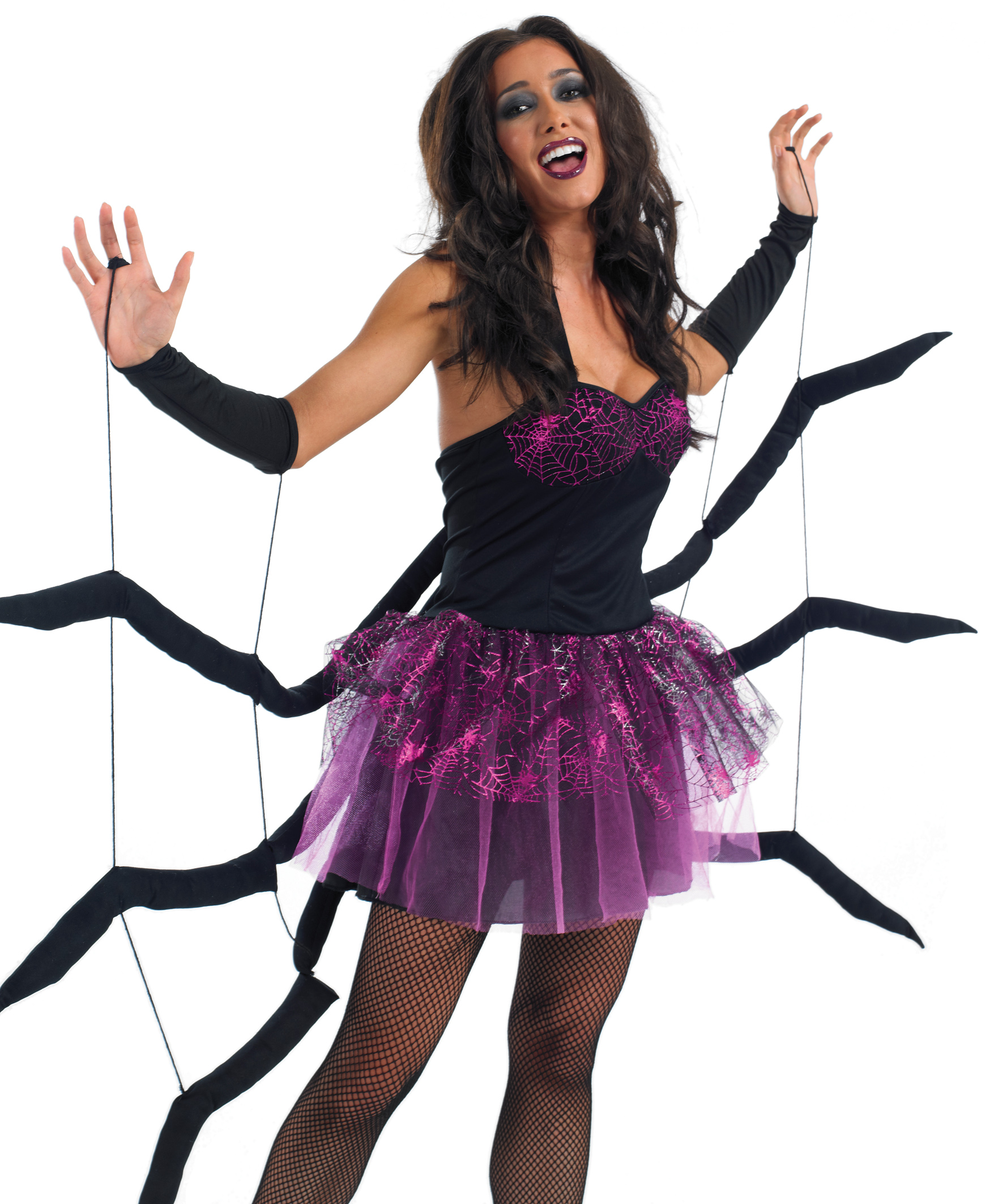 Black Widow Spider Costume  sc 1 st  Mega Fancy Dress & Black Widow Spider Costume | All Ladies Halloween Costumes | Mega ...