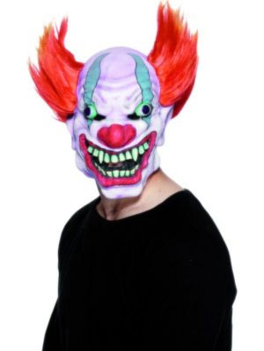 Evil Clown Halloween Mask | Fancy Dress Masks | Mega Fancy Dress