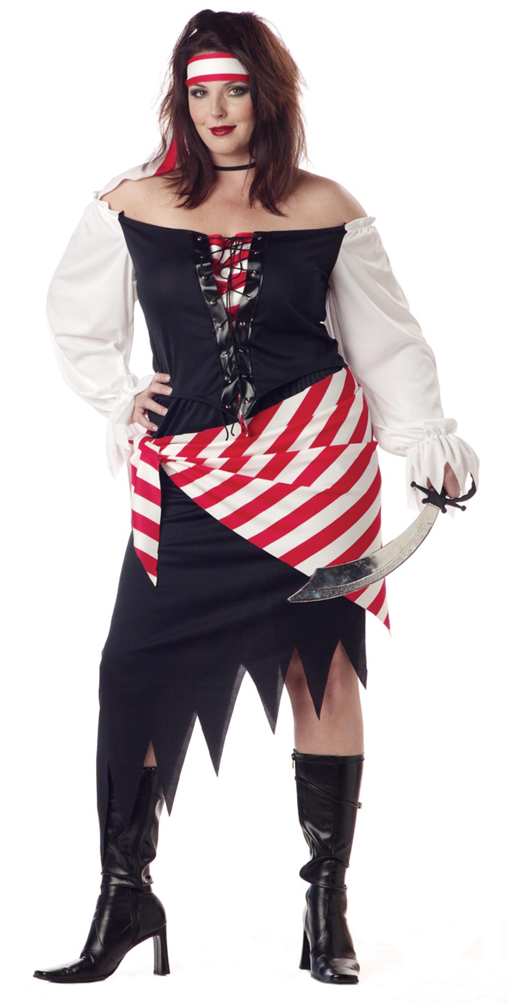 Plus Size Ruby the Pirate Beauty Costume