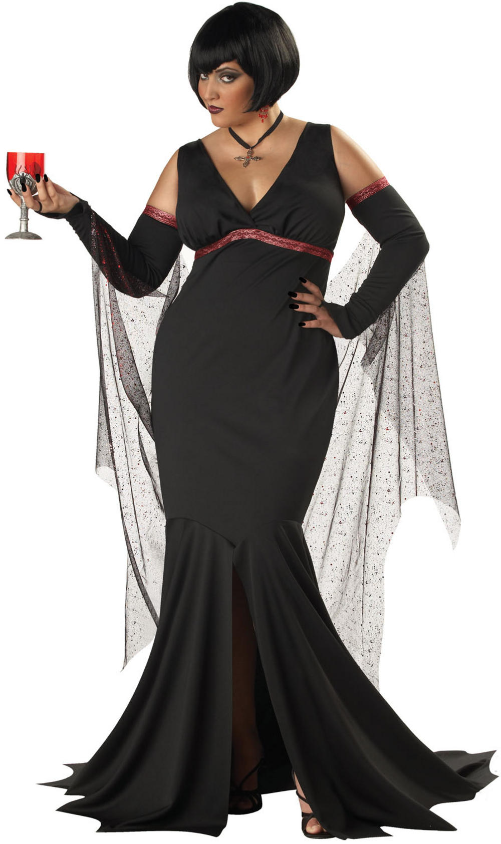 Plus Size Immortal Seductress Costume