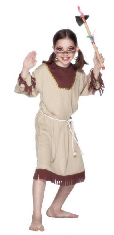 Indian Girl Medium Costume