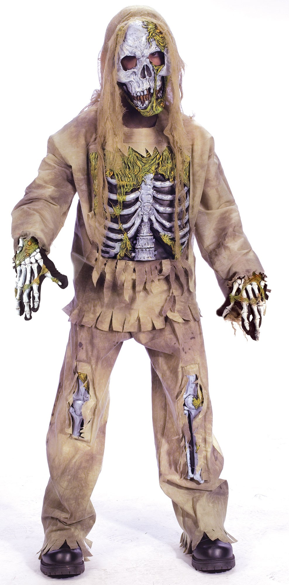 Zombie Halloween Costumes For Toddlers.Kids Skeleton Zombie Halloween Fancy Dress Costume