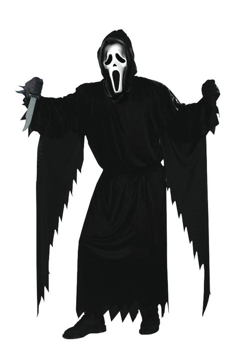 Mens' Scream Fancy Dress Costume
