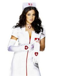 White Nurse Gloves