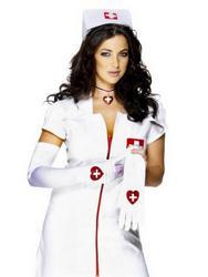 White Nurse Gloves
