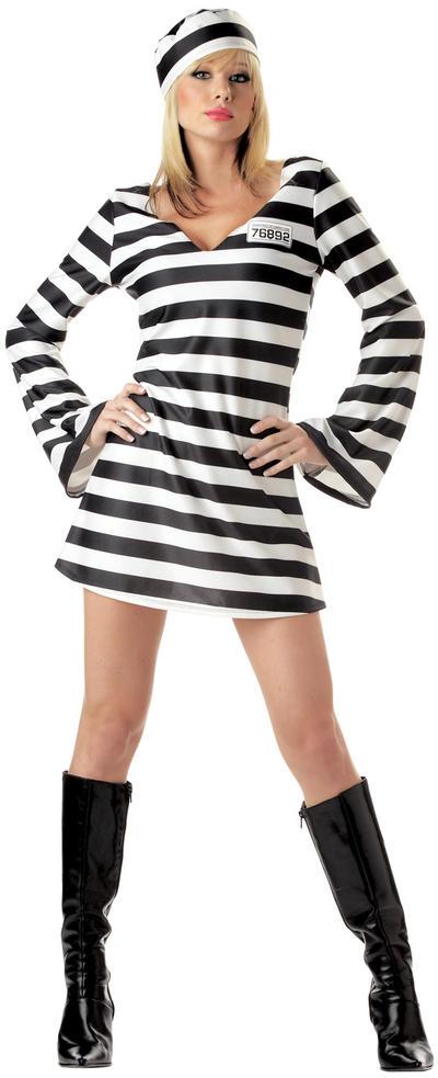 Convict Chick Costume