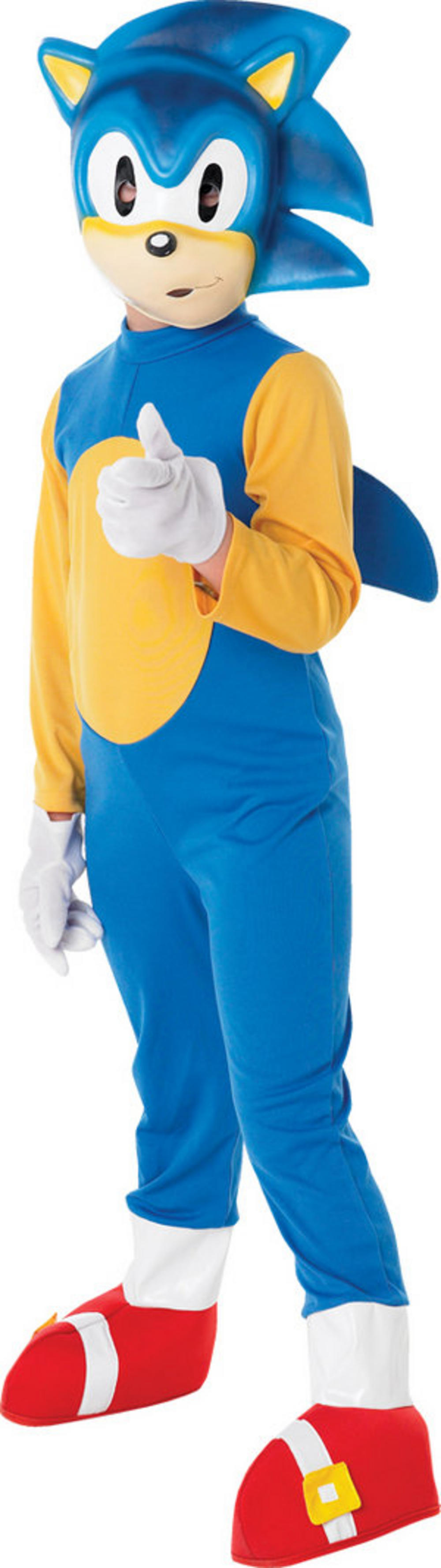 Boysu0027 Sonic The Hedgehog Costume  sc 1 st  Mega Fancy Dress & Boysu0027 Sonic The Hedgehog Costume | TV Book and Film Costumes | Mega ...