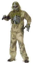 Skeleton Zombie Halloween Costume
