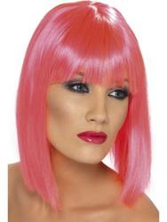 Glam Neon Pink Wig