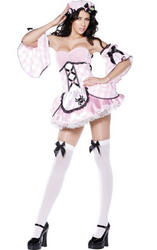Ladies' Sexy Miss Muffet Fever Boutique Fancy Dress Costume