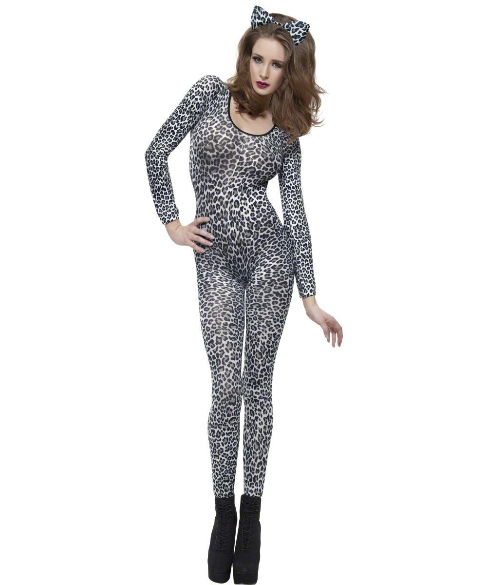 Leopard Print Bodysuit Costume