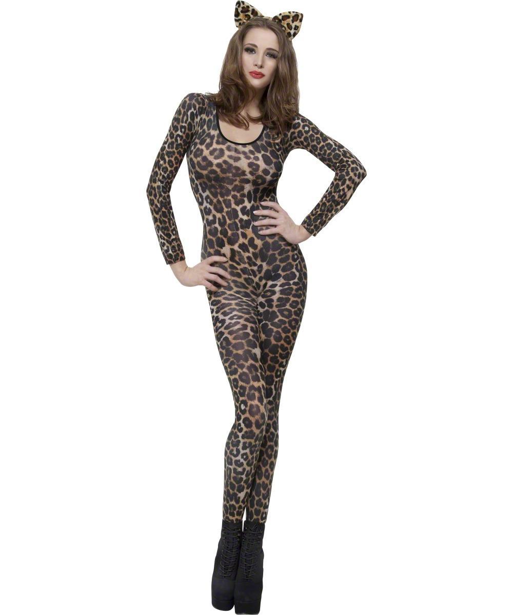 Cheetah Print Bodysuit Costume  sc 1 st  Mega Fancy Dress & Cheetah Print Bodysuit Costume | All Ladies Halloween Costumes ...
