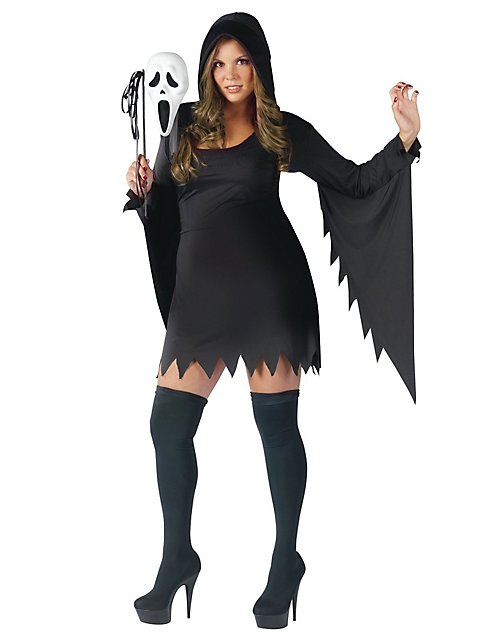 b09dcdb4b38 Plus Size Sexy Scream Costume