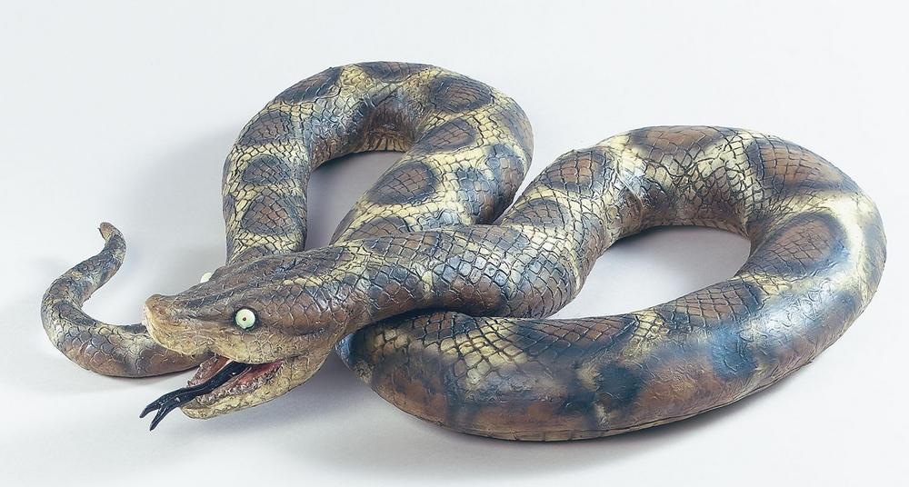 Large Rubber Snake Halloween Fancy Dress Accessory