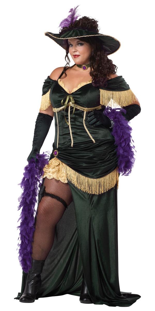 Plus Size Saloon Madame Costume All Ladies Costumes Mega Fancy Dress