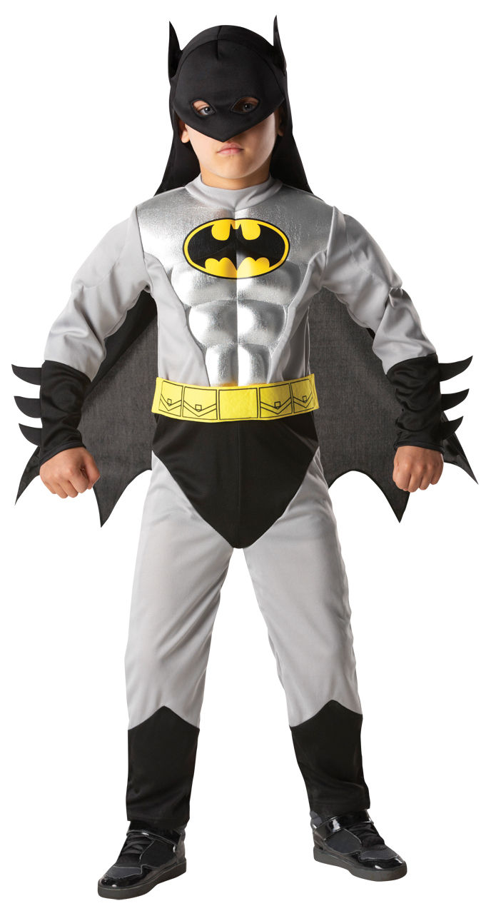 Kidu0027s Batman Muscle Chest Costume  sc 1 st  Mega Fancy Dress & Kidu0027s Batman Muscle Chest Costume | TV Book and Film Costumes ...