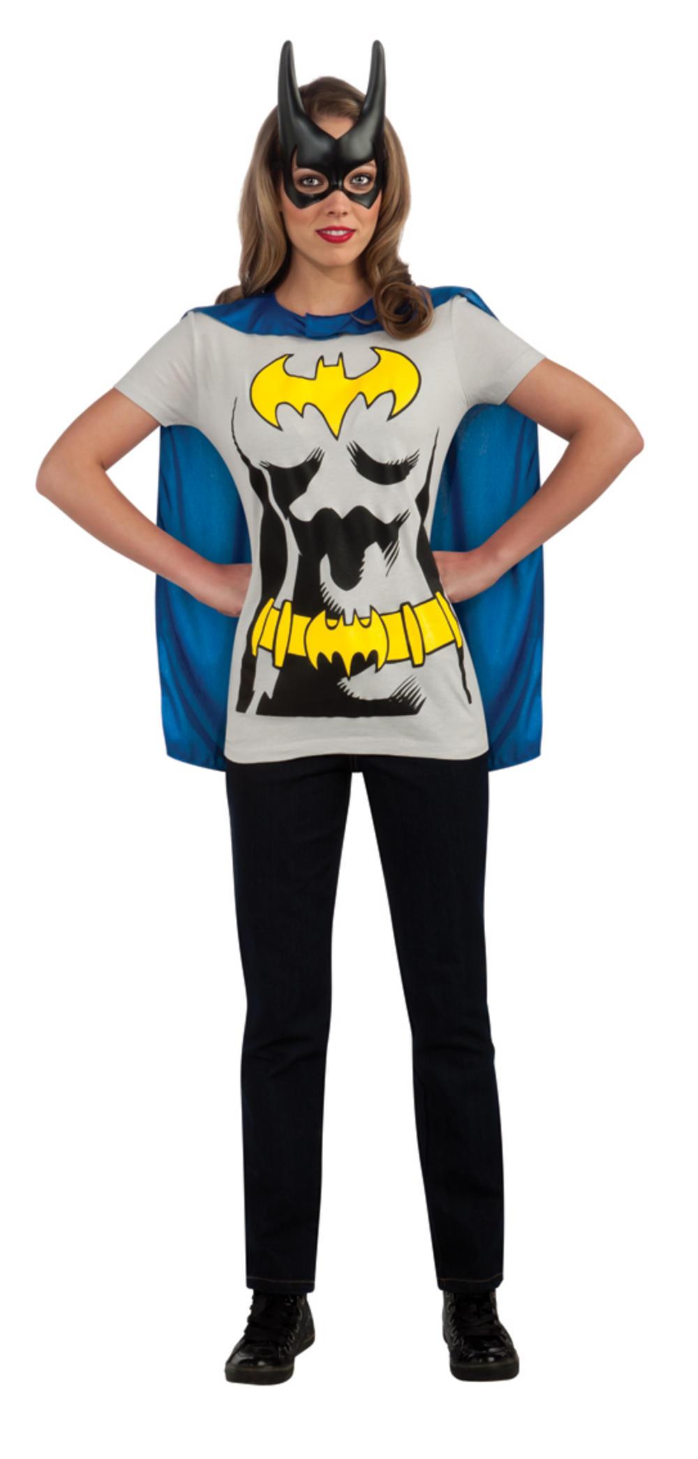 Licensed Batgirl T-Shirt and Cape