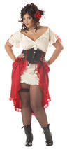 Ladies' Plus Size Cantina Girl Costume