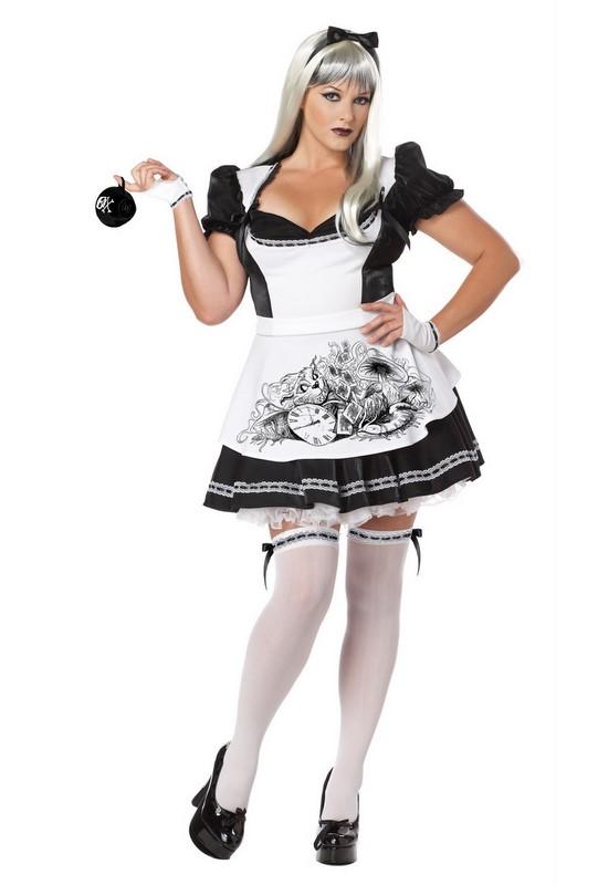 Plus Size Dark Alice Costume All Ladies Halloween Costumes Mega