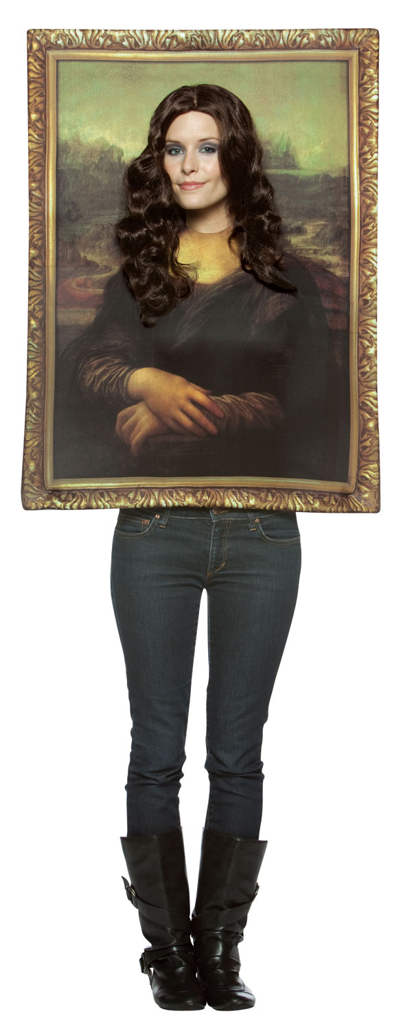 Mona Lisa Picture Frame Costume All Ladies Costumes