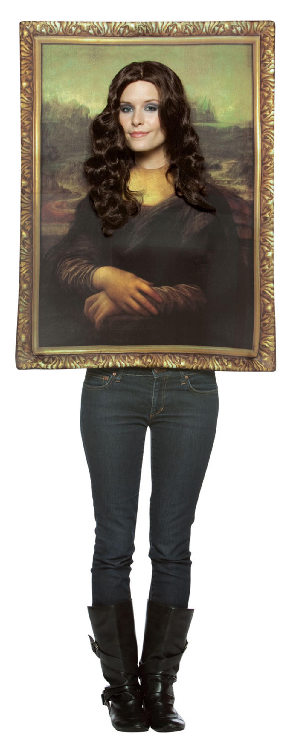 Mona Lisa Picture Frame Costume
