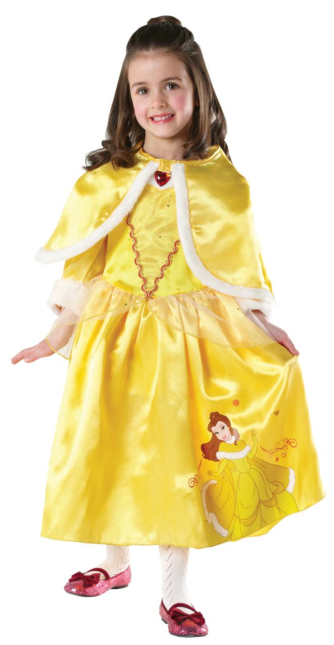 Disney Princess Girls Winter Wonderland Fancy Dress Kids ...