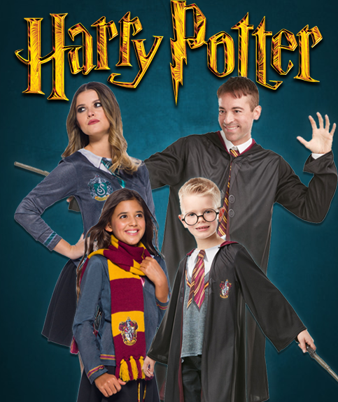 Harry Potter World Book Day Costumes from Budget Fever