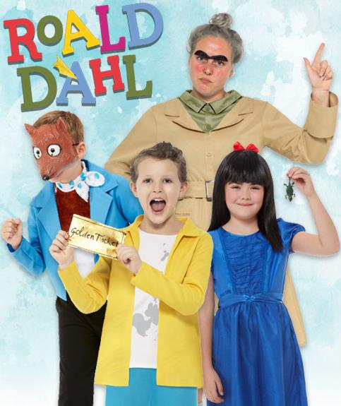 Roald Dahl World Book Day Fancy Dress Costumes