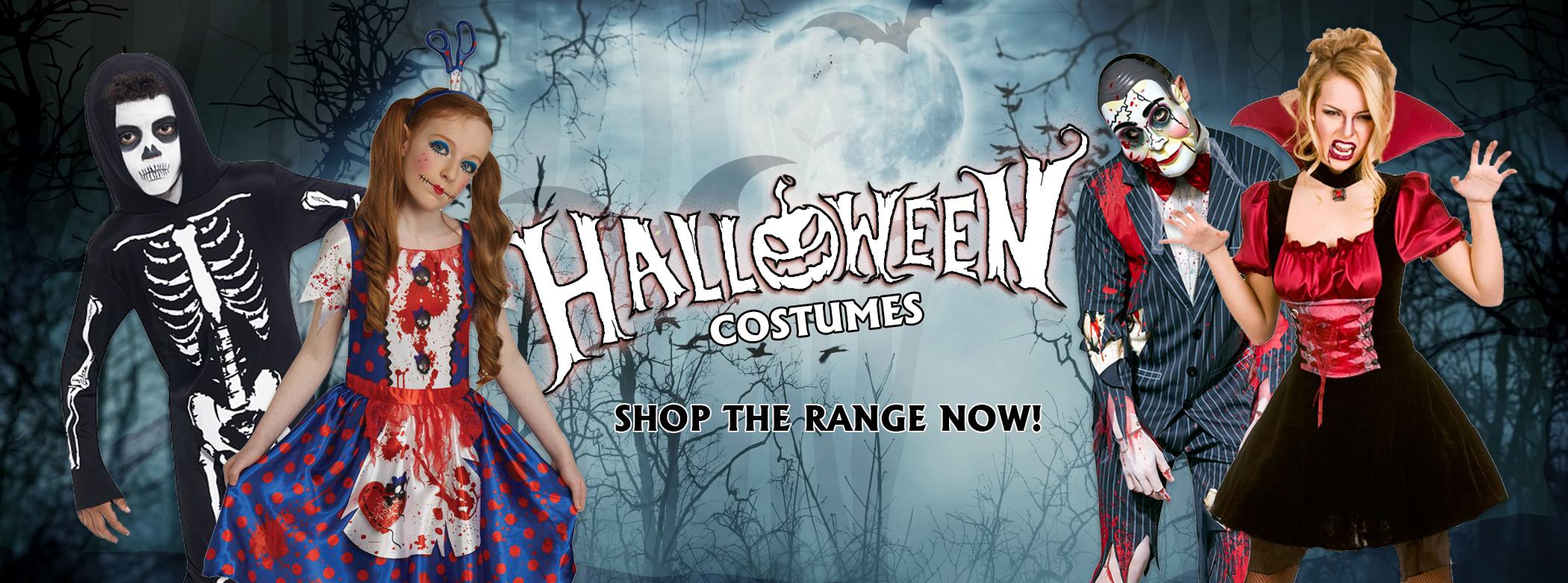 Trending Fancy Dress Halloween Costumes from Budget Fever