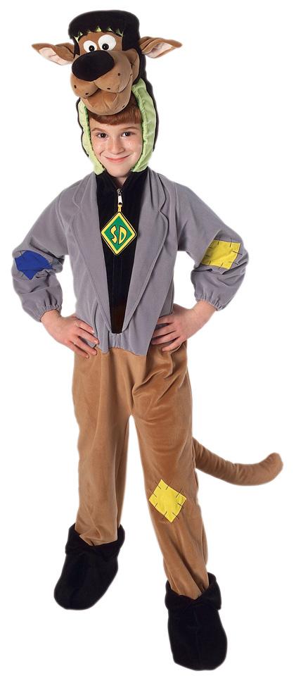 Kids Deluxe Scooby Doo Monster Costume All Halloween Mega Fancy
