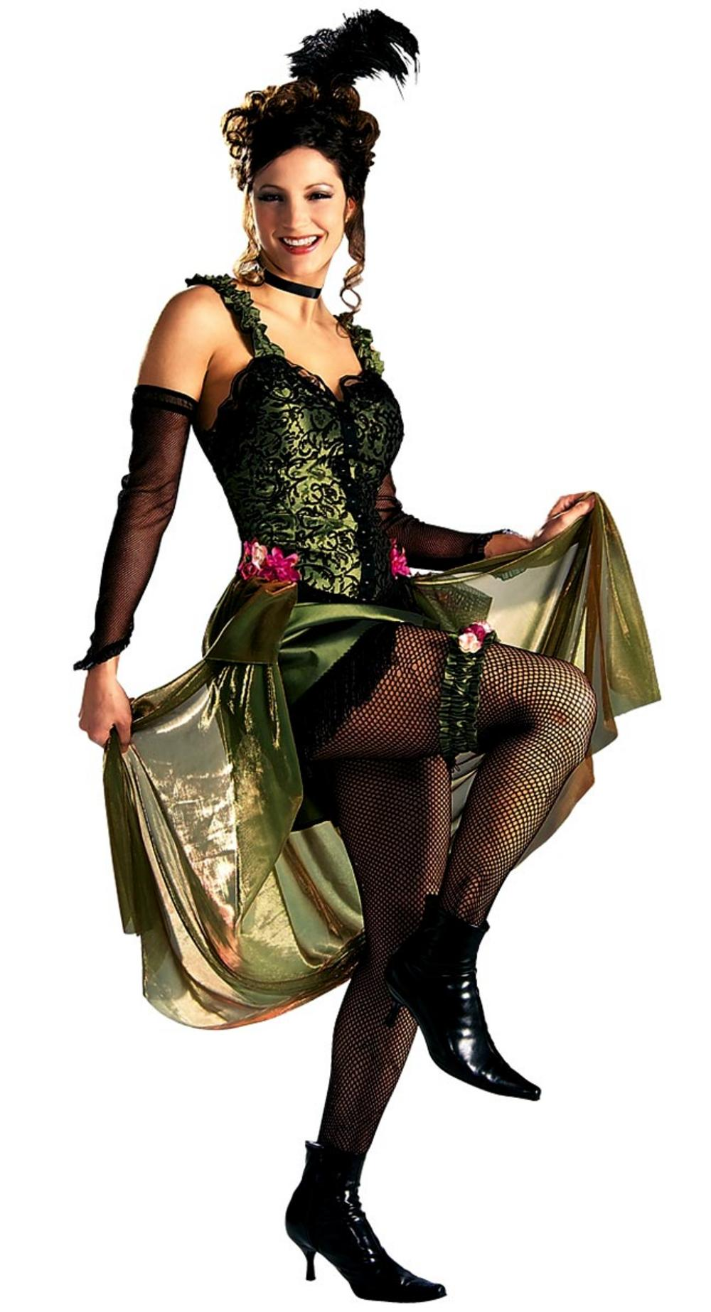 Olive Saloon Girl Costume