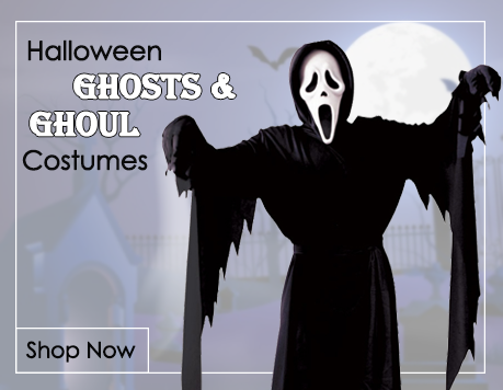 Ghost & Ghoul Fancy Dress Costumes from Mega Fancy Dress
