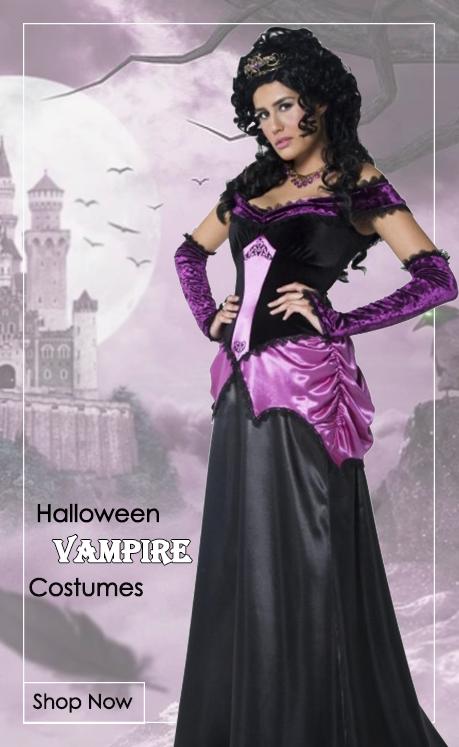 Vampire Fancy Dress Costumes from Mega Fancy Dress