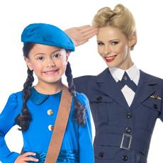 1930's & 1940's Costumes
