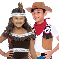 Cowboy & Indian Costumes