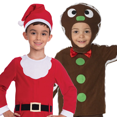 All Boy's Christmas Costumes