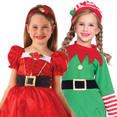 All Girl's Christmas Costumes